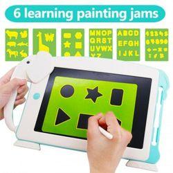 10.5 Inch Lcd Cartoon Tablet Kid Drawing Board- Blue