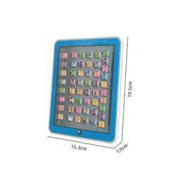 Educational Toys Dot Reading Machine English Early Education Machine IPAD Tablet Learning Machine for Children-Blue