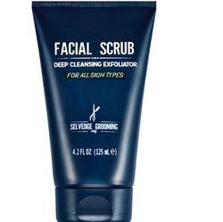 Selvedge Facial Scrub Deep Cleansing Exfoliator for all Skin Types