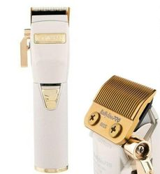 BaByliss Pro REDFX Lithium White/Gold Barber Hair Clipper/BabylissPro Trimmer