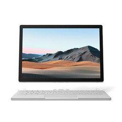 "Microsoft Surface Book 3 Hybrid (2-in-1) 13.5"" Laptop, i5-1035G7, 8GB, 256GB SSD, Windows 10 Professional - Platinum [SKR-00015]"