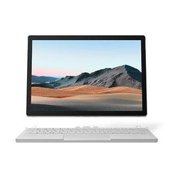 "Microsoft Surface Book 3 Hybrid (2-in-1) 13.5"" Laptop, i7-1065G7, 32GB, 1TB SSD, GTX1650, Windows 10 Professional - Platinum [SLU-00015]"