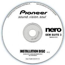 Pioneer Software Nero Suite 3 OEM Version 6.6 [IDDVR110]
