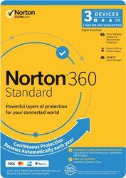 Norton N360 Standard 10GB 1U 3D 1Y ENR DVDSLV [21396462]