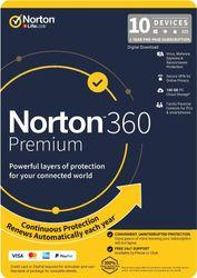 Norton N360 Premium 100GB 1 User 10 Device 1 Year [21396485]