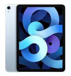 Apple 10.9-inch iPad Air (4th Gen) Wi-Fi + Cellular 256GB - Sky Blue [MYH62X/A]