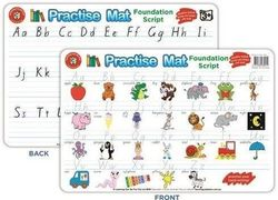 Learning Can Be Fun - Practise Mat - Foundation Script