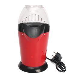 Mini Household Healthy Hot Air Oil-free Round Popcorn Maker Home Kitchen Eletric Machine