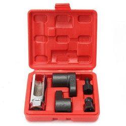 5Pcs Oxygen Sensor Socket O2 Thread Install Offset Wrench Vacuum M12 M18