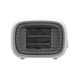 Small White Car Heater Fan Car Small Air Conditioner Small Speed Hot Electric Fan