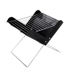Portable Charcoal BBQ Grill Outdoor Camping Picnic Barbecue Cooking Folding Tool