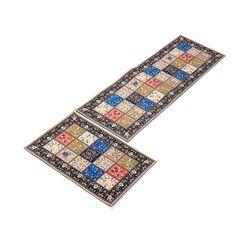2Pcs Home Kitchen Floor Carpet Non-Slip Area Rug Bathroom Door Mat