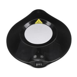 2 in 1 USB Cup Heater Cooler Plate Tea Milk Heating Cooling Pad For Home Office BLACK COLOR