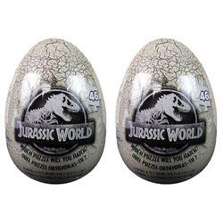 2x 46pc Jurassic World Egg Jigsaw Puzzle Educational/Learning Toy Kids/Child 4y+