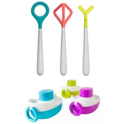 6pc Boon Tones Musical Boats/Blobbles Bath Wands Kids/Baby/Toddler Bathing Toys