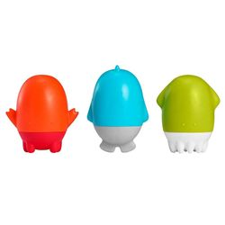 3pc Boon Spurt Multi Colour Set Bath Squirt Bathing Time Toys Baby/Kids 10m+