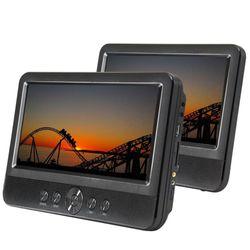 10inch Twin Screen Travel/Car/Portable USB /MP3/DVD Player w/Remote/Region Free