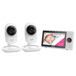 Vtech Wi-Fi 1080p LCD Video/Audio Baby Safety Monitor w/Remote Access/2x Camera