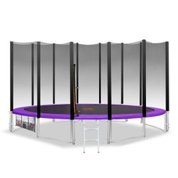 Kahuna Blizzard 14ft Trampoline with Net
