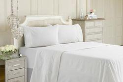 Actil Hotel First Line Cotton Sheet Set - King Single / White