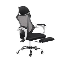 Executive Office Gaming Chair Ergonomic 150° Lying Recliner Footrest High Back