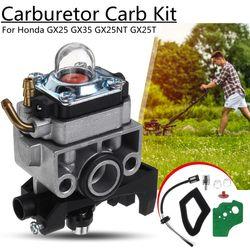 Lawn Mower Carburetor Carb Repair Kit For Honda GX25 GX35 GX25NT GX25T FG110K1