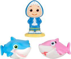 Cocomelon: Bath Squirters Set - JJ & Sharks