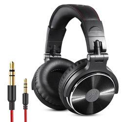 OneOdio Pro 10 Wired Headphones - Black
