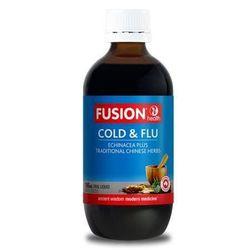 Fusion Health Cold & Flu 100ml Isatis Root & Leaf
