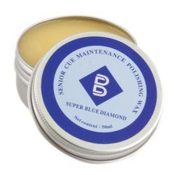 Super Blue Diamond Pool Snooker Billiard Cue Polishing Wax