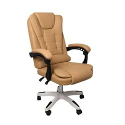 Gaming Chair Office Computer Seat Racing PU Leather Executive Bronze without footrest