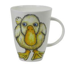 Roy Kirkham Please Shut the Gate Mug, Duck