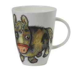 Roy Kirkham Please Shut the Gate Mug, Horse