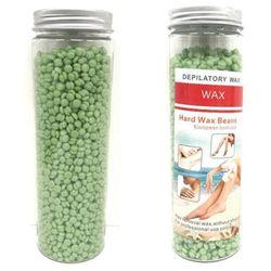 400g Hard Wax Beads | Brazilian Waxing Beans Bottles Resealable Hot Heat Melt - 1x400g Bottle / Aloe Vera