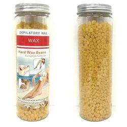 400g Hard Wax Beads | Brazilian Waxing Beans Bottles Resealable Hot Heat Melt - 1x400g Bottle / Honey