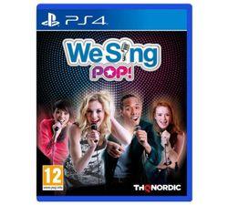 We Sing Pop PS4 Game