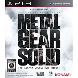 Metal Gear Solid The Legacy Collection Solus Game PS3 ( )