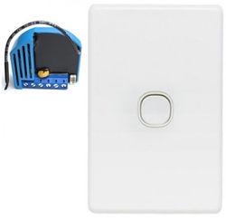 Z-Wave Dim Clipsal Impress Z-wave Switch Package, Qubino Module, Press