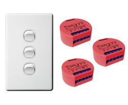 Triple Shelly 1PM Kit (Toggle Switch)