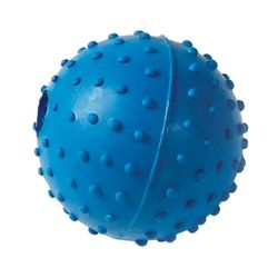Classic Pimple Dog Ball With Bell (May Vary) (60 mm)