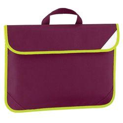 Quadra Enhanced-Vis Book Bag - 4 Litres (Burgundy) (One Size)