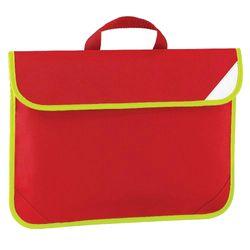 Quadra Enhanced-Vis Book Bag - 4 Litres (Classic Red) (One Size)