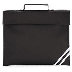 Quadra Classic Book Bag - 5 Litres (Black) (One Size)