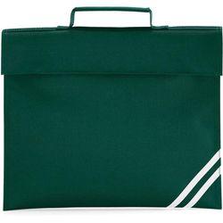 Quadra Classic Book Bag - 5 Litres (Bottle Green) (One Size)