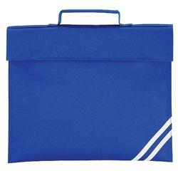 Quadra Classic Book Bag - 5 Litres (Bright Royal) (One Size)