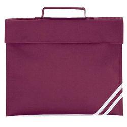 Quadra Classic Book Bag - 5 Litres (Burgundy) (One Size)