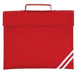 Quadra Classic Book Bag - 5 Litres (Classic Red) (One Size)