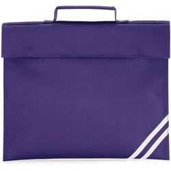 Quadra Classic Book Bag - 5 Litres (Purple) (One Size)
