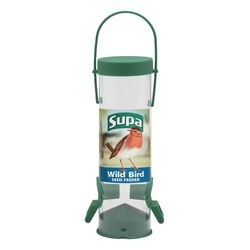 Supa 2 Port Seed Bird Feeder (May Vary) (8in)