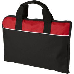 Bullet Tampa Conference Bag (Solid Black/Red) (38 x 2.5 x 28cm)